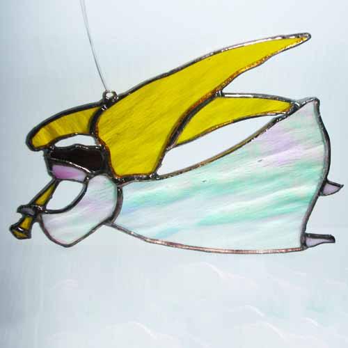 Flying Angel sun catcher