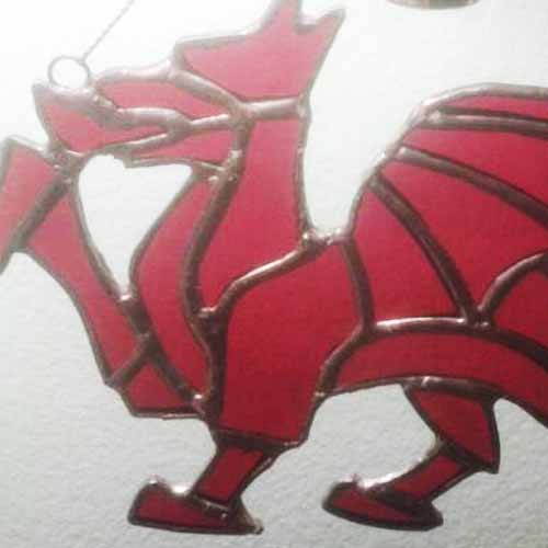 2D Welsh Dragon