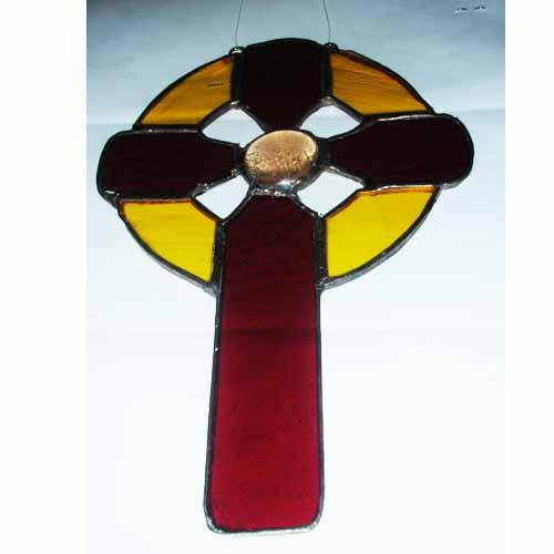 Celtic Cross Suncatcher