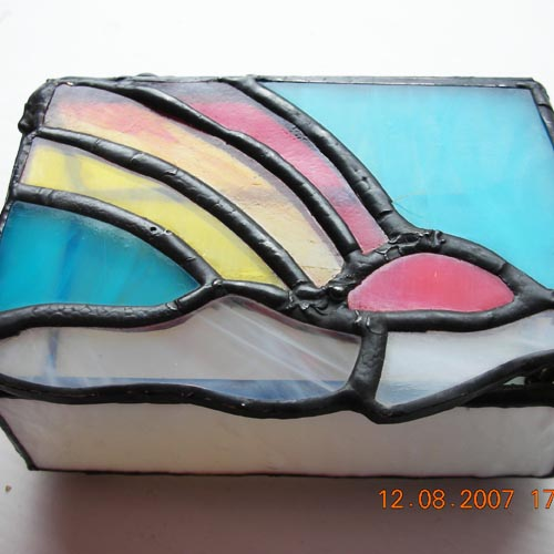 Rainbow Lid Box